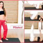 Aσκήσεις pilates για επίπεδη κοιλιά από τη Μάντη Περσάκη!