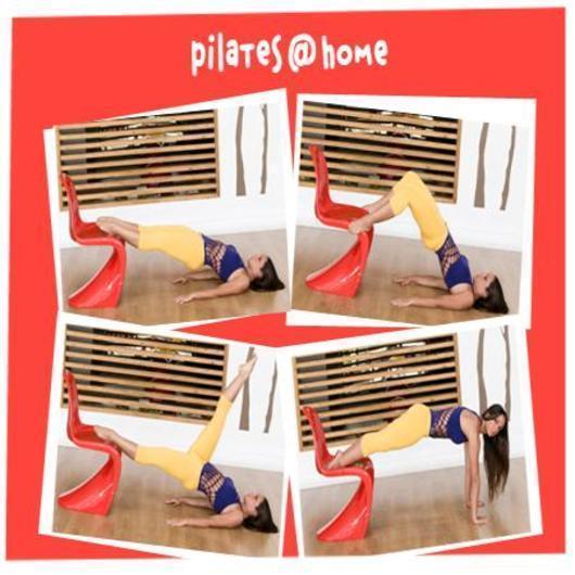 Pilates με την Μάντη Περσάκη! Ο δρόμος για το τέλειο σώμα ξεκινά από μια… καρέκλα!