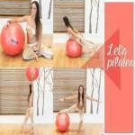 Ασκήσεις με μπάλα! Η Μάντη Περσάκη σου δείχνει το δρόμο για την επίπεδη κοιλιά