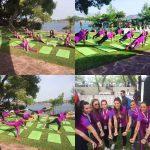 Τα pilates by Mandy και η παρουσία τους στο ladies run