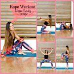 ΓΥΜΝΑΣΤΙΚΗ ΣΤΟ ΣΠΙΤΙ: Μεταμόρφωσε το σώμα σου με ένα σχοινάκι