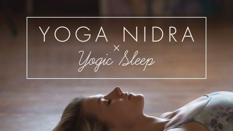 Δηλώστε συμμετοχή στο event της yoga nidra